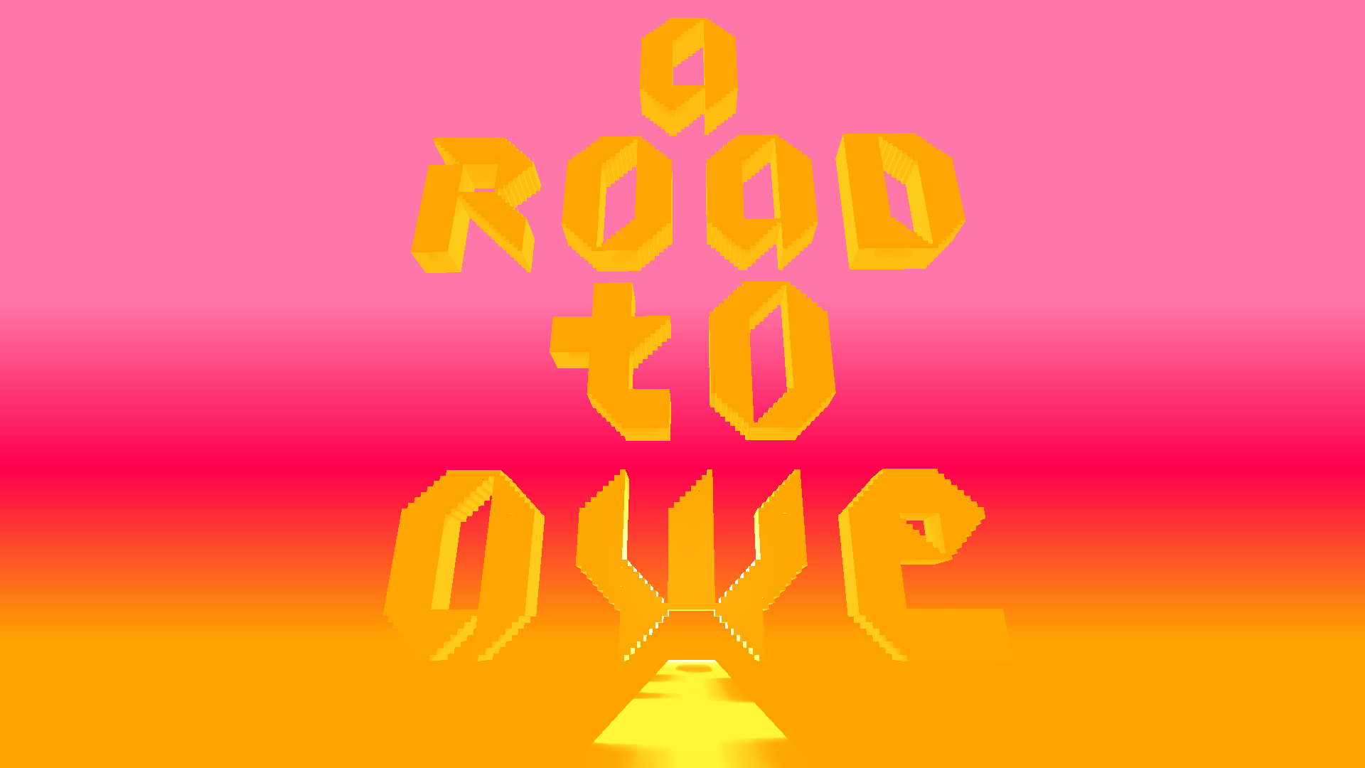 A Road to Awe - Title Screen